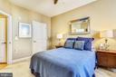 The bedroom features a large walk-in closet. - 1391 PENNSYLVANIA AVE SE #402, WASHINGTON