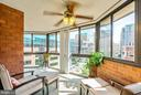Beautiful wraparound sunroom - 1001 N VERMONT ST #809, ARLINGTON