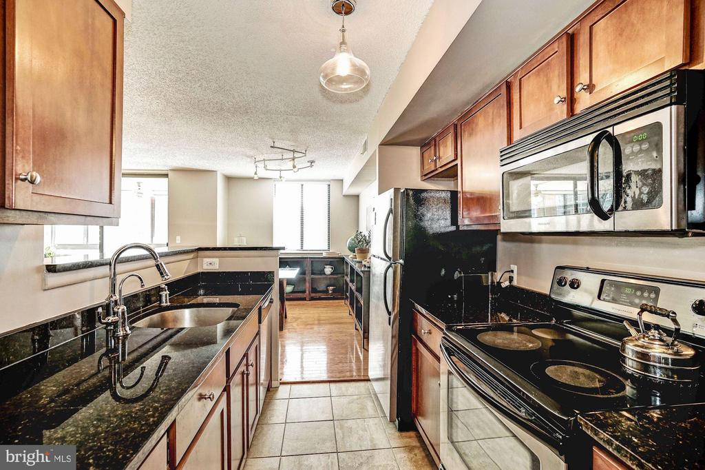 Upgraded kitchen with tons of natural light - 1001 N VERMONT ST #809, ARLINGTON