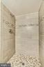 Upgraded tile shower in master suite - 1001 N VERMONT ST #809, ARLINGTON