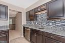Gorgeous HGTV type Gourmet Kitchen!! - 18413 HALLMARK CT, GAITHERSBURG