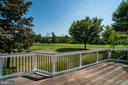 Back deck with view of the golf course - 20210 HIDDEN CREEK CT, ASHBURN