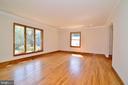 Living Room - 3109 WOODLAND LN, ALEXANDRIA