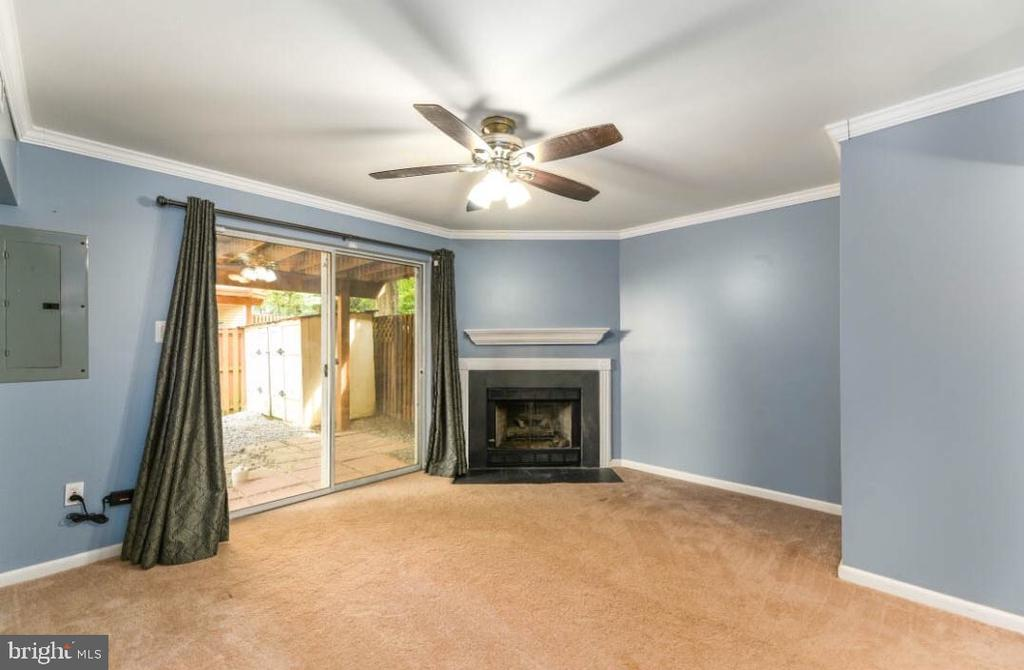 Basement/Fireplace - 5734 HARRIER DR, CLIFTON