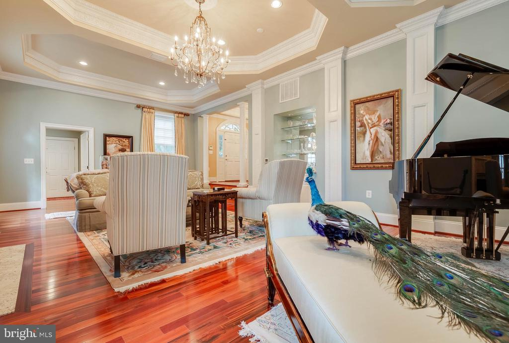 Three tray ceilings and gleaming hardwood floors. - 1011 N WASHINGTON ST, ALEXANDRIA