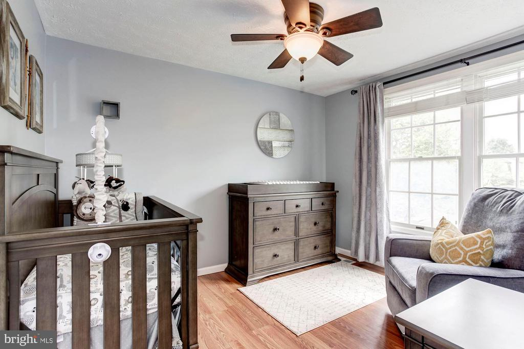 Bedroom #2 - Ceiling Fan & Overhead Lighting! - 6115 GARDENIA CT, ALEXANDRIA