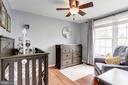 Bedroom #2 - Ceiling Fan & Overhead Lighting! - 6115 GARDENIA CT, ALEXANDRIA