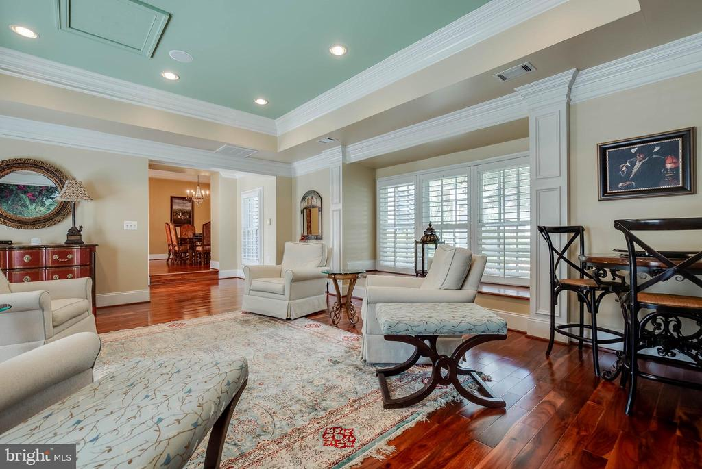 Plantation shutters & large bay window w/ seating! - 1011 N WASHINGTON ST, ALEXANDRIA