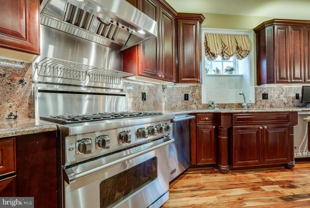 Professional Viking appliances w/6  burner stove! - 1011 N WASHINGTON ST, ALEXANDRIA