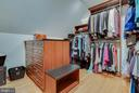 Walk in closet! - 1011 N WASHINGTON ST, ALEXANDRIA