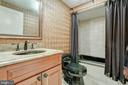 Full bath on lower level! - 1011 N WASHINGTON ST, ALEXANDRIA