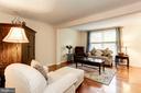Living Room - Large Windows for Optimal Sunlight! - 6115 GARDENIA CT, ALEXANDRIA
