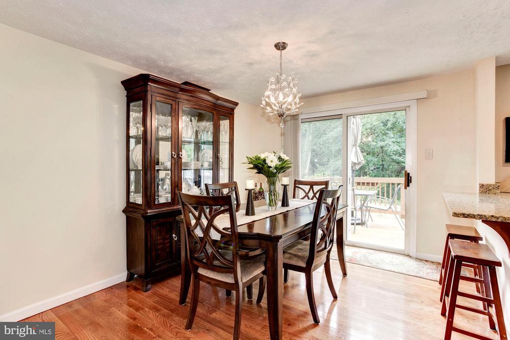 Dining Room - Hardwood Floors - 6115 GARDENIA CT, ALEXANDRIA