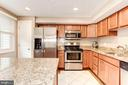 Kitchen - Granite Counter Tops! - 6115 GARDENIA CT, ALEXANDRIA
