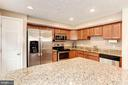 Kitchen - Spacious - Expansive Counter Top Space! - 6115 GARDENIA CT, ALEXANDRIA