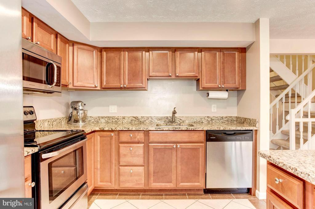 Kitchen Boasts Lots of Cabinets - Storage Galore! - 6115 GARDENIA CT, ALEXANDRIA