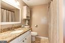 Full Bathroom #2 - Could Easily Fit Dual Sinks! - 6115 GARDENIA CT, ALEXANDRIA