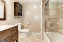 Master Bathroom - Spacious, Beautifully Renovated! - 6115 GARDENIA CT, ALEXANDRIA