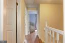 Upstairs Landing to Secondary Bedrooms - 6115 GARDENIA CT, ALEXANDRIA