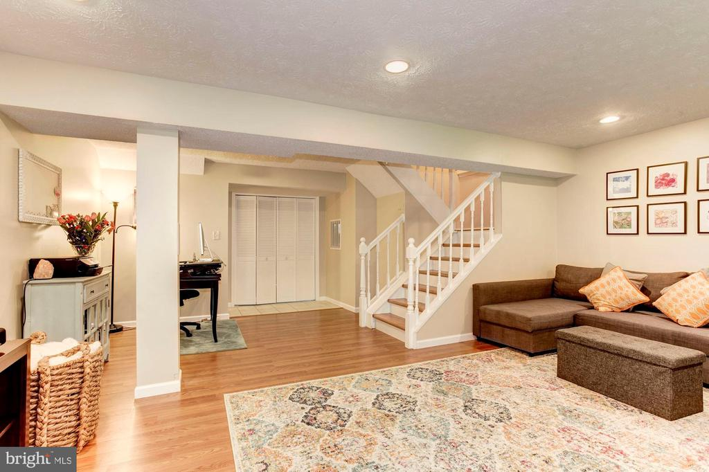 Lower Level - Use this Space a Variety of Ways! - 6115 GARDENIA CT, ALEXANDRIA