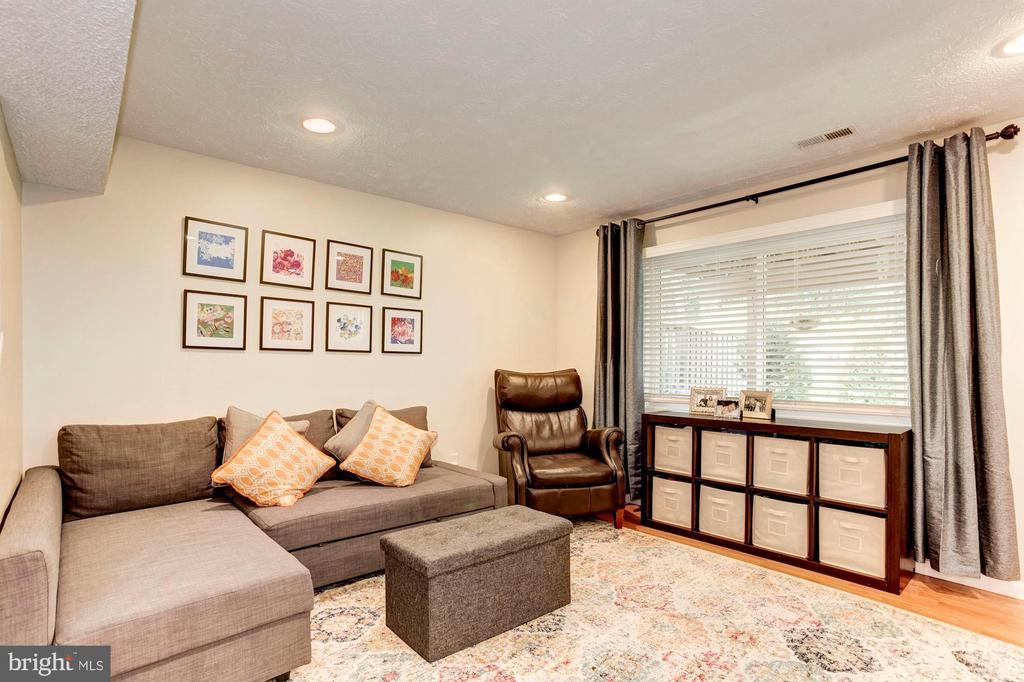 Family Room/Rec Room - Recess Lighting! - 6115 GARDENIA CT, ALEXANDRIA