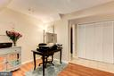 Lower Level - Space for a Home Office! - 6115 GARDENIA CT, ALEXANDRIA