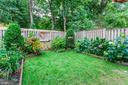 Back Yard - Perfectly Manicured! - 6115 GARDENIA CT, ALEXANDRIA