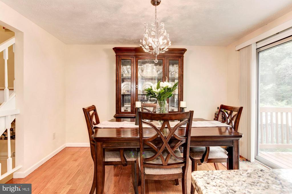 Dining Room - Seats 8-10+ Guests Comfortably! - 6115 GARDENIA CT, ALEXANDRIA