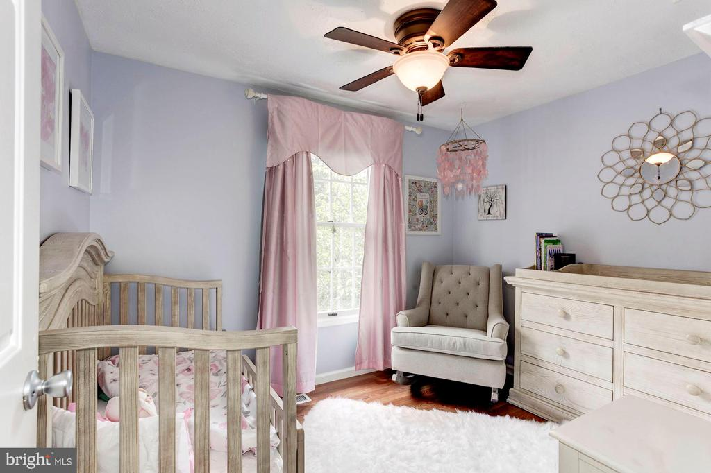Bedroom #3 - Ceiling Fan & Overhead Lighting! - 6115 GARDENIA CT, ALEXANDRIA