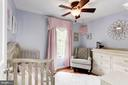 Bedroom #3 - Ceiling Fan & Overhead Lighting! - 6115 GARDENIA CT, ALEXANDRIA