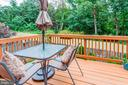 Deck Overlooks Breathtaking Wooded Views - 6115 GARDENIA CT, ALEXANDRIA