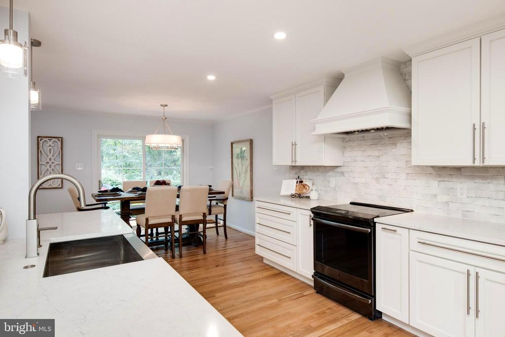 Details and decorator touches, quartz counters. - 11005 BIRDFOOT CT, RESTON