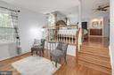 Master suite sitting room. - 11005 BIRDFOOT CT, RESTON