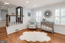 Relaxing reading nook. - 11005 BIRDFOOT CT, RESTON