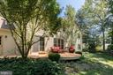 Enjoy the great outdoors from your deck. - 11005 BIRDFOOT CT, RESTON