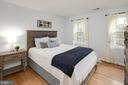 Upper level 3rd bedroom with a lovely view. - 11005 BIRDFOOT CT, RESTON