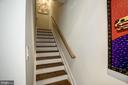 Stairway going up to 2nd floor - 1418 N RHODES ST #B102, ARLINGTON