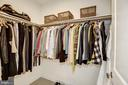 One of two large master closets - 1418 N RHODES ST #B102, ARLINGTON