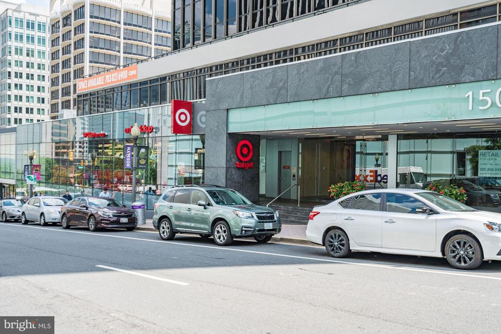 Target is a short walk away - 1418 N RHODES ST #B102, ARLINGTON