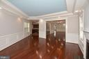 Family Opens to Kitchen and Dining Room - 1706 N RANDOLPH ST, ARLINGTON