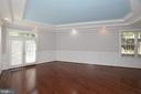 Family Also Has Tray Ceiling - 1706 N RANDOLPH ST, ARLINGTON