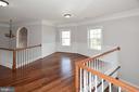 Upper Foyer: office, study area or family sitting - 1706 N RANDOLPH ST, ARLINGTON