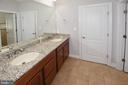 Double sinks in Jack and Jill Bath - 1706 N RANDOLPH ST, ARLINGTON