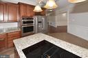 Downdraft cooktop - 1706 N RANDOLPH ST, ARLINGTON