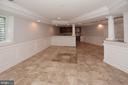 Very Spacious Rec Room - 1706 N RANDOLPH ST, ARLINGTON