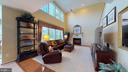 Family Room With Tall Ceilings - 20386 CLIFTONS POINT ST, POTOMAC FALLS