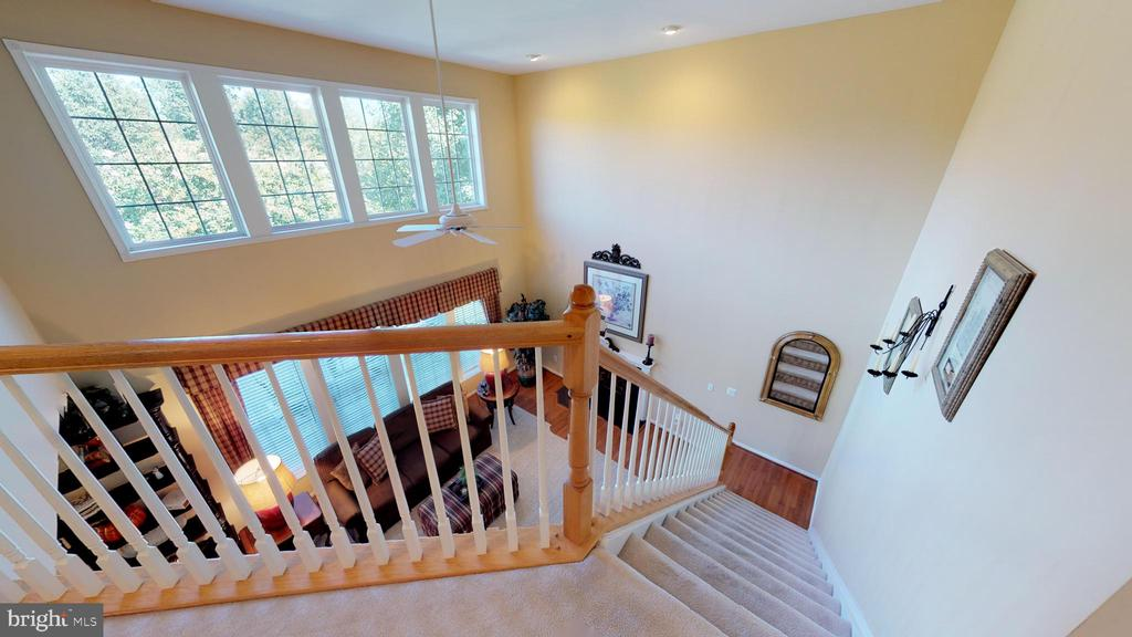 Rear Staircase - 20386 CLIFTONS POINT ST, POTOMAC FALLS