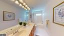 Hall Bath With Double Sinks - 20386 CLIFTONS POINT ST, POTOMAC FALLS