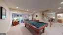 Downstairs Game Room - 20386 CLIFTONS POINT ST, POTOMAC FALLS
