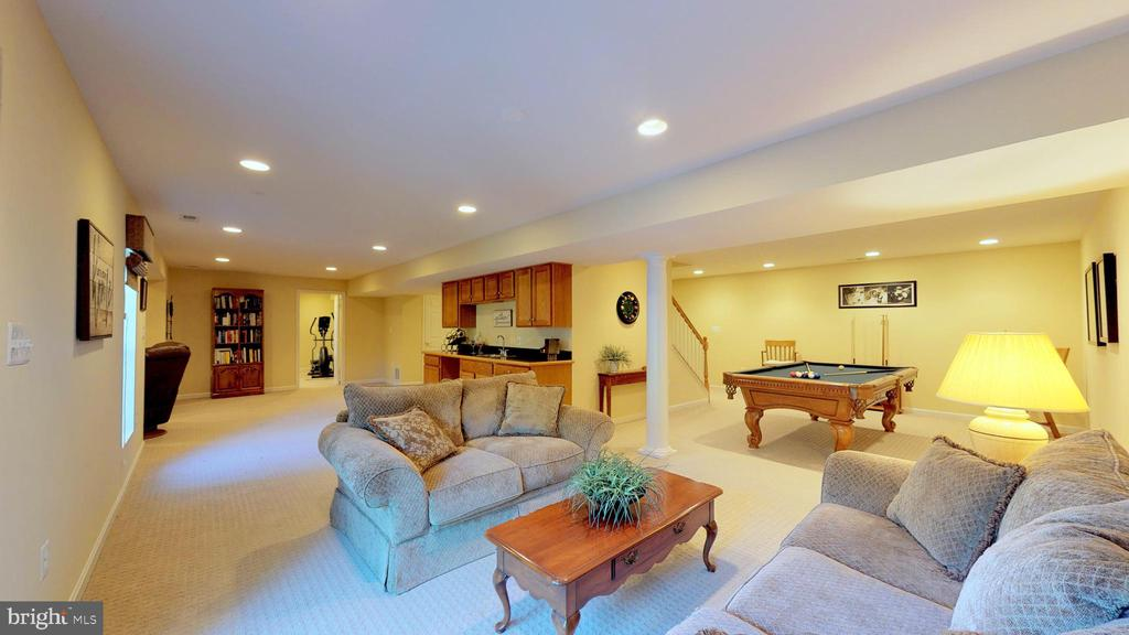Huge Recreation Room - 20386 CLIFTONS POINT ST, POTOMAC FALLS